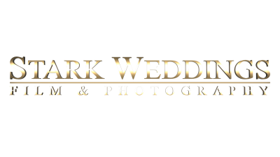 Stark Weddings gold logo